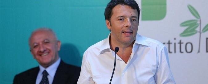 Regionali 2015: De Luca impresentabile? A Renzi bastava non candidarlo