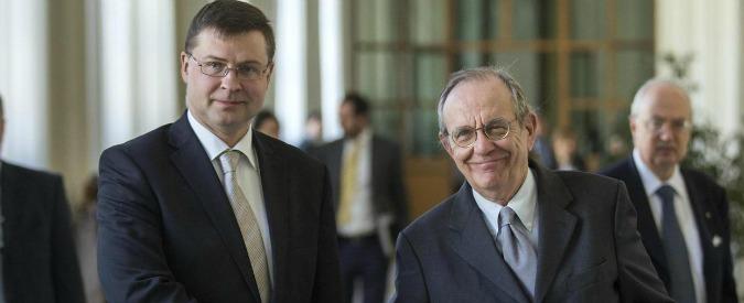"""Legge Stabilità, Ue: """"Alcune azioni non in linea con raccomandazioni. Per il giudizio finale serviranno settimane"""""""