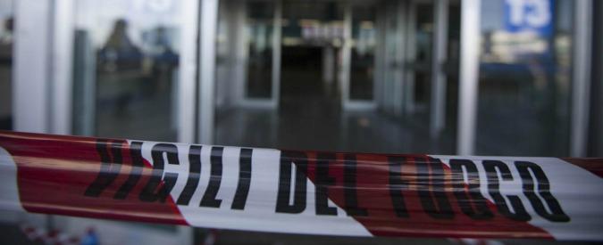 Incendio Fiumicino, 5 indagati. Guasto di un radar: traffico aereo rallentato