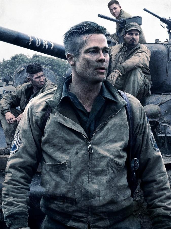 Fury, l'eco (lontana) di Spielberg e Malick nel film di David Ayer. Con Brad Pitt e Shia La Boeuf