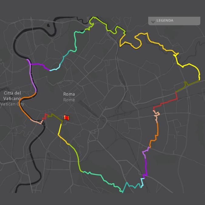 GRAB, il grande raccordo anulare delle bici. Roma prepara una ciclabile di 44 km