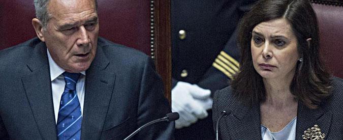 Boldrini in business, Grasso in economica. Roma-Usa: stesso vertice, classe diversa