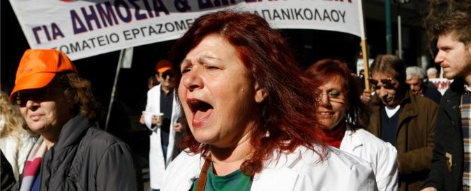 Crisi Greca, dietro le trattative il sistema sanitario sull'orlo del collasso