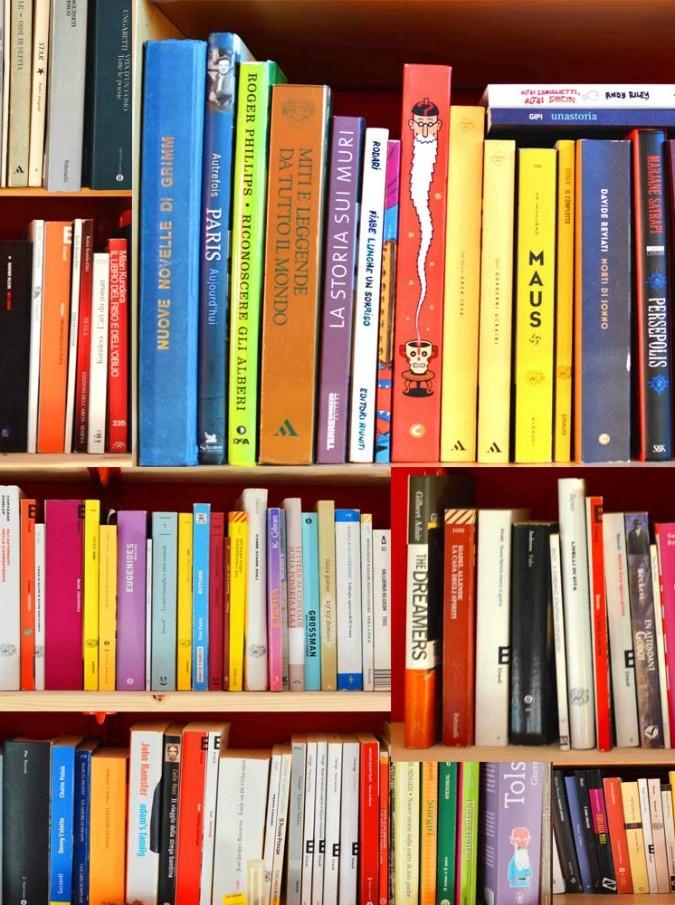 libreria per magazine