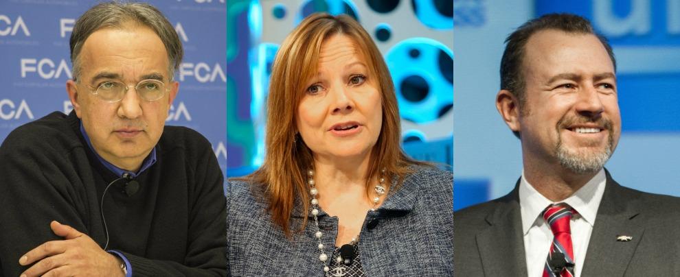 Marchionne, dopo Mary Barra anche il presidente GM rifiuta ipotesi fusione FCA