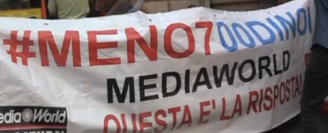 """Mediaworld: """"Contratti di solidarietà al posto di licenziamento collettivo"""""""