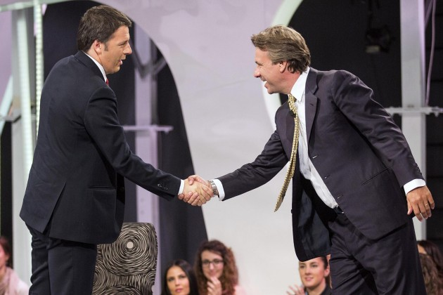 Matteo Renzi ospite a Virus