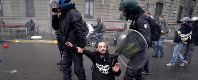 """No Expo Milano, la procura indaga per devastazione. Maroni: """"Fondo da un milione e mezzo per risarcire i danni"""""""