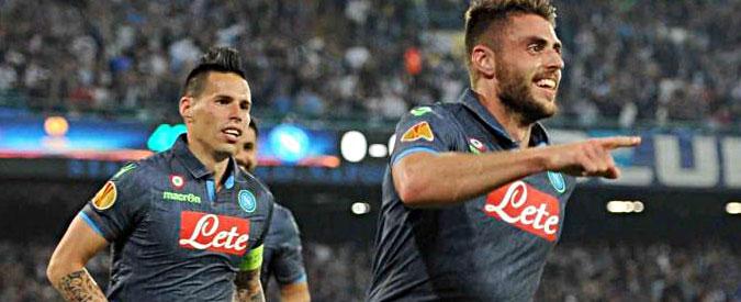 Napoli – Dnipro, risultato 1-1. Fiorentina ko a Siviglia: 3 a 0