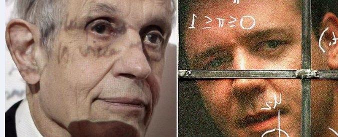 """John Nash, il matematico: """"Genio. Dal Nobel a film operazione di marketing"""""""