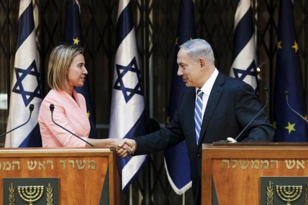 Gerusalemme, Netanyahu riceve Federica Mogherini