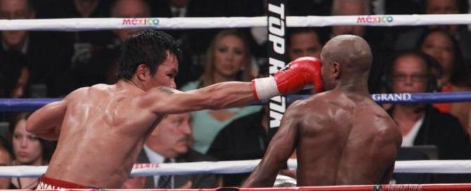 Mayweather vs Pacquiao, causa da 5 milioni di dollari contro il pugile filippino