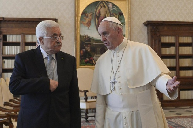 Papa Francesco riceve Mahmoud Abbas, Presidente dello Stato di Palestina