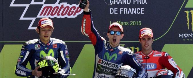 Classifica MotoGp, a Le Mans primo Lorenzo, secondo Rossi. Trionfo Yamaha