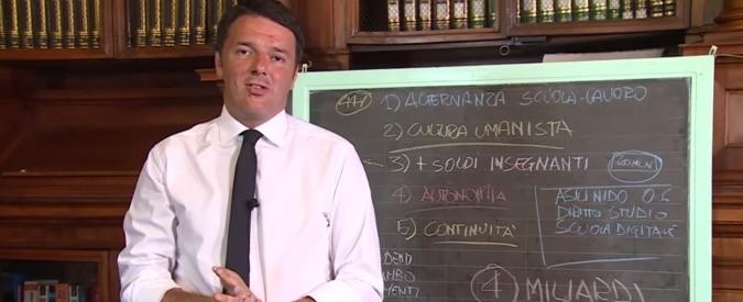 Riforma scuola: Renzi, il Pinocchio che distrugge l'istruzione pubblica