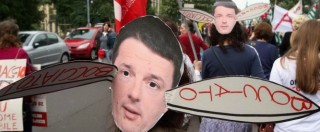 """Sciopero scuola 5 maggio 2015, proteste in tutta Italia. Renzi: """"Dialogo, ma c'è chi si crogiola nella protesta"""""""