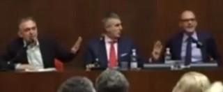 Regionali Toscana, scontro al dibattito tra Rossi e Mugnai (Fi): 'Razzista', 'indagato'