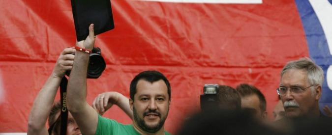 """Renzi, Salvini: """"Leader Pd? Più cattivo di Berlusconi. Occupa ogni posto di potere"""""""
