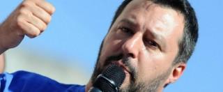 """Salvini contro Papa Francesco: """"Il crocefisso di Evo Morales mi ha schifato"""""""