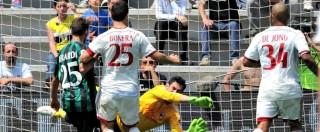 Serie A, risultati e classifica: Milan, addio Europa. Cagliari in B dopo 11 anni