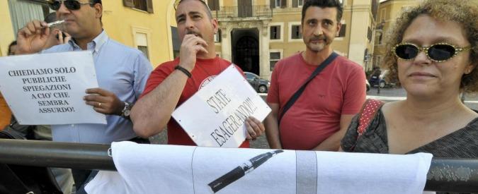 Sigarette elettroniche, Consulta boccia la supertassa voluta dal governo Letta