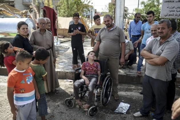 I cristiani di Qaraqosh rifugiati a Erbil