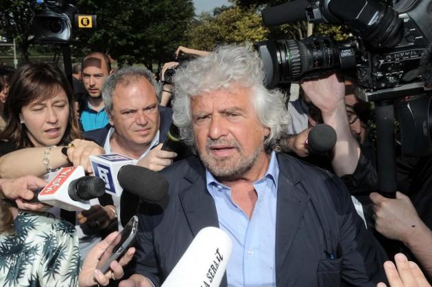 Beppe Grillo all'assemblea ordinaria degli azionisti ENI