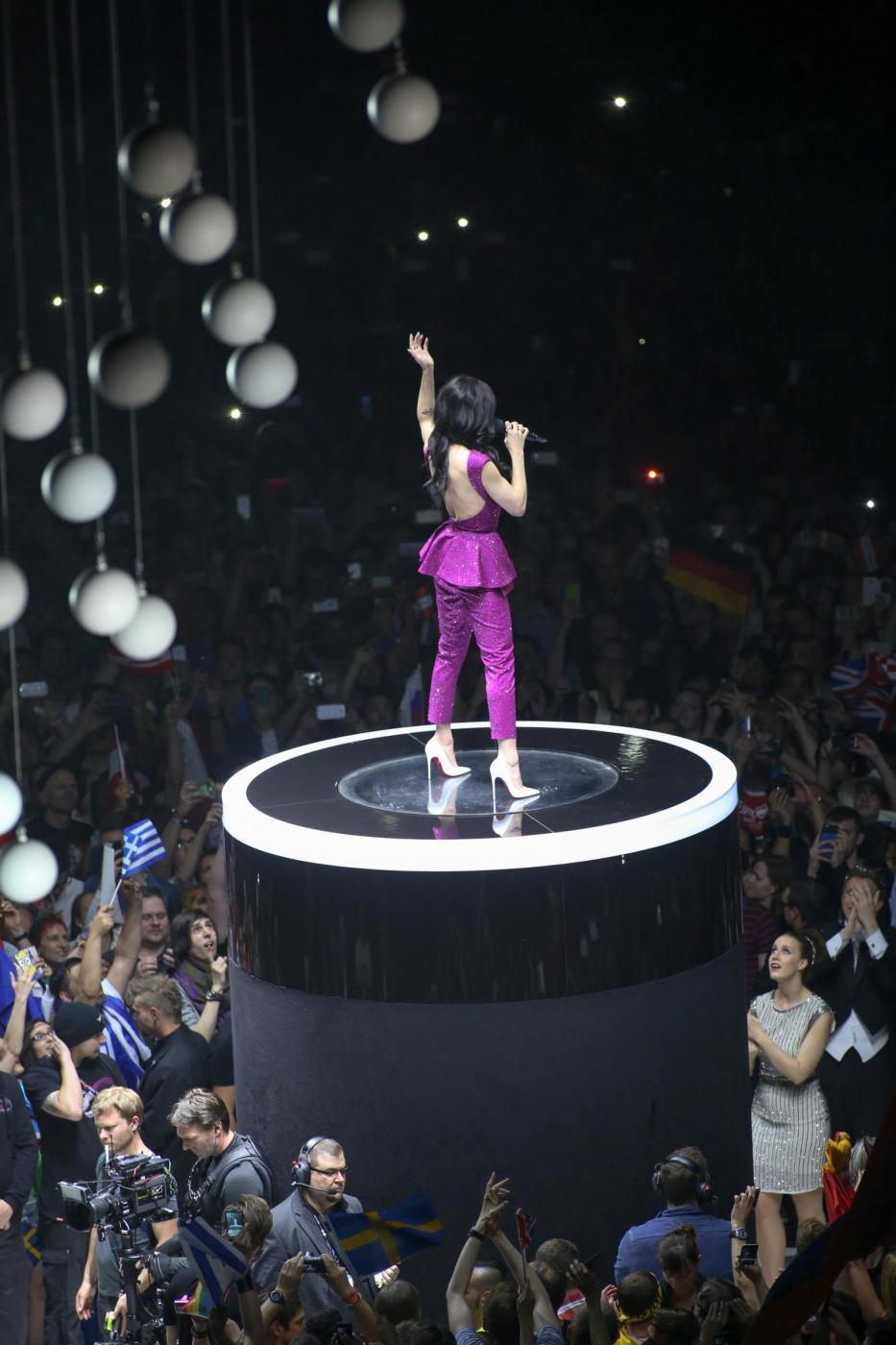 Conchita Wurst regina del palco