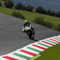 Valentino Rossi durante le  prove libere