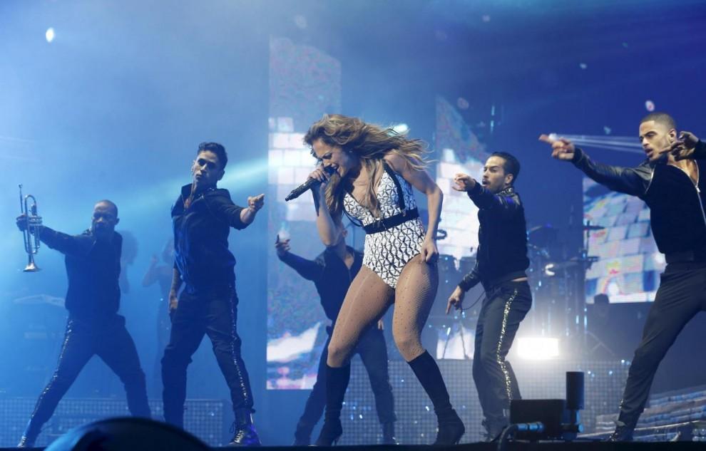 Marocco, Jennifer Lopez sul palco