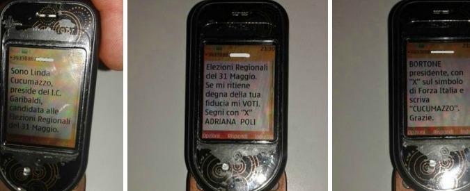 """Regionali Puglia, M5s: """"Da preside in lista con Fi sms elettorali a genitori alunni"""". Replica: """"Non sono stata io. Mi vogliono bene"""""""
