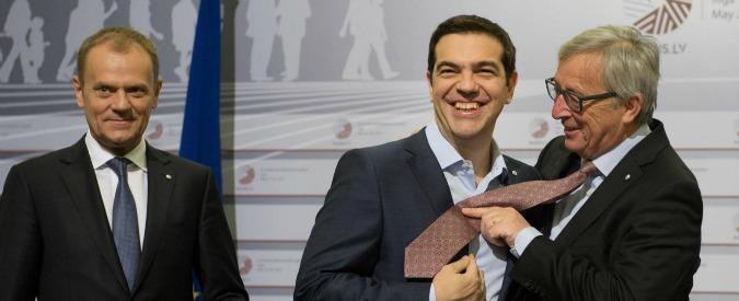 """Grecia, Kathimerini: """"Bozza di accordo per ristrutturazione debito Atene"""""""