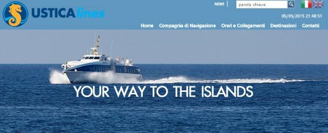Ustica Lines, Sicilia paga ma aprirà un tavolo su congruità tariffe