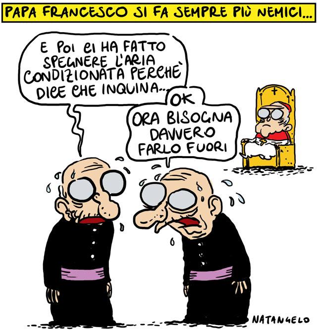 La svolta ecologista del Papa