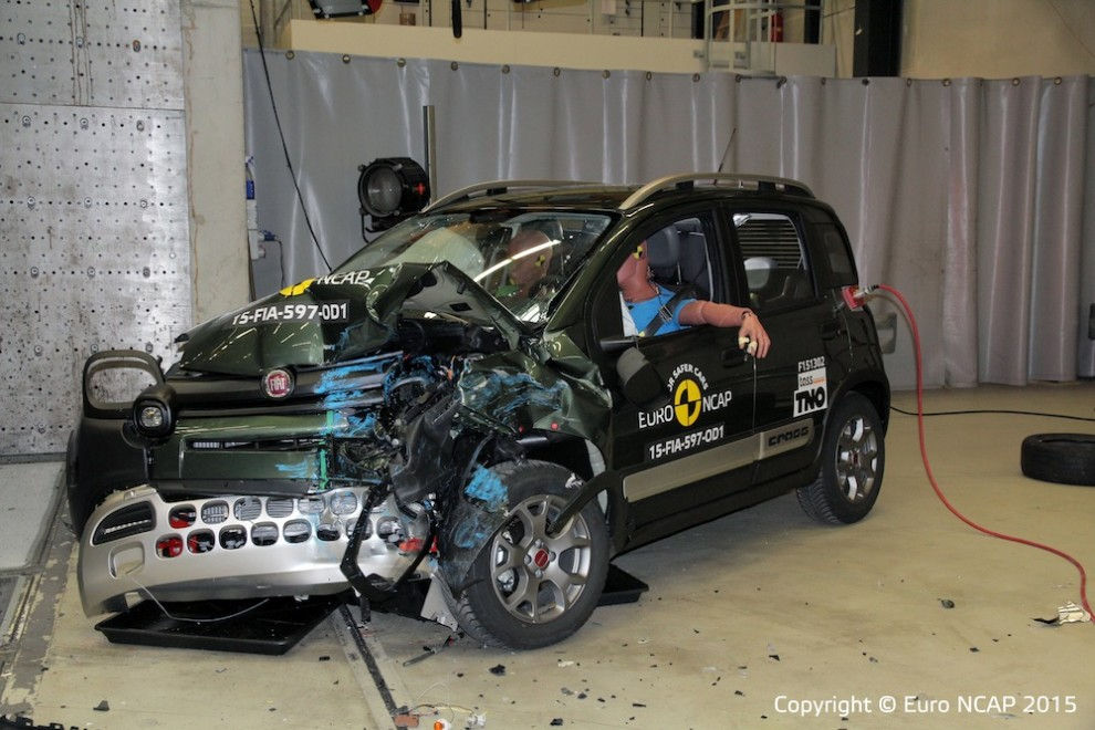crash test euroncap solo 3 stelle a panda cross hyundai i20 4 stelle 5 alla superb il fatto. Black Bedroom Furniture Sets. Home Design Ideas