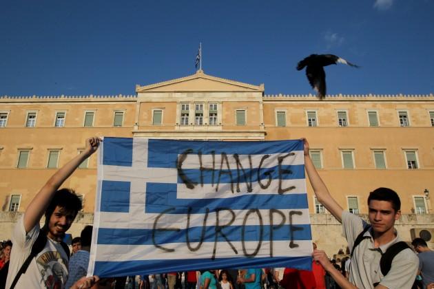 Grecia, proteste del partito Syriza contro le misure di austerità