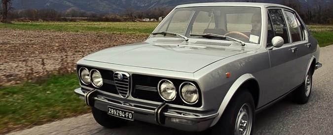Alfa Romeo: l'amore ai tempi dell'Alfetta