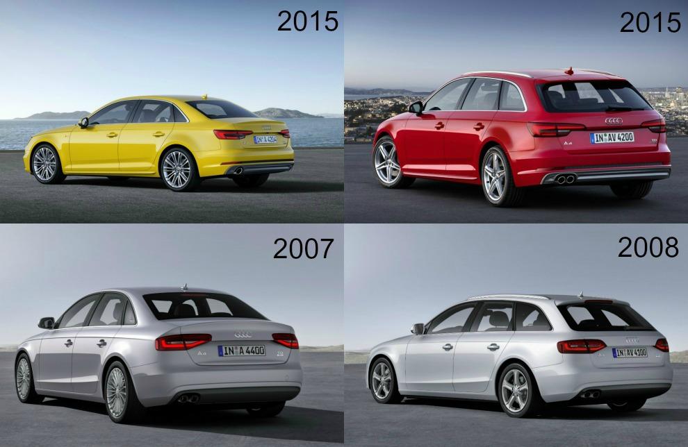 Audi A4 coda 20072008-2015