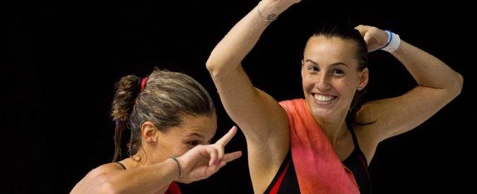 Tania Cagnotto vince medaglia di bronzo nel sincro – misto. E' la terza medaglia