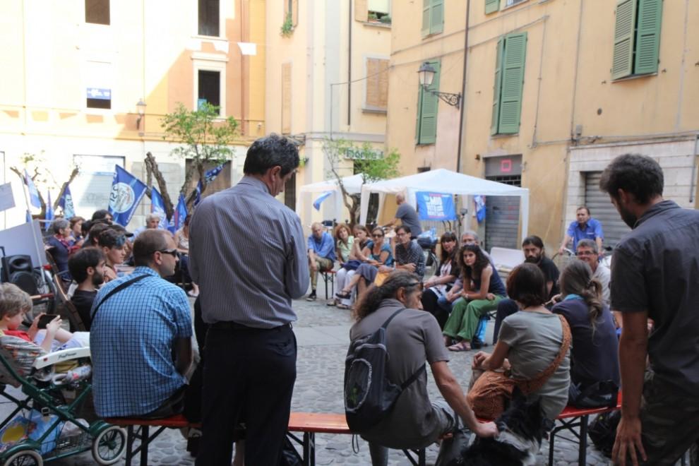 Proteste per l'Acqua pubblica a Reggio Emilia