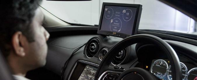 JLR, l'auto leggerà le onde cerebrali. Per sapere se può cedere il volante all'uomo