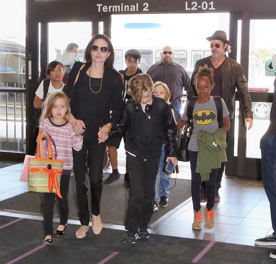 Brad Pitt – Angelina Jolie