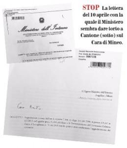 Lettera Cantone Lillo