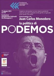 Locandina Podemos