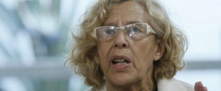 Spagna, le 'indignade' Carmena e Colau nuovi sindaci di Madrid e Barcellona