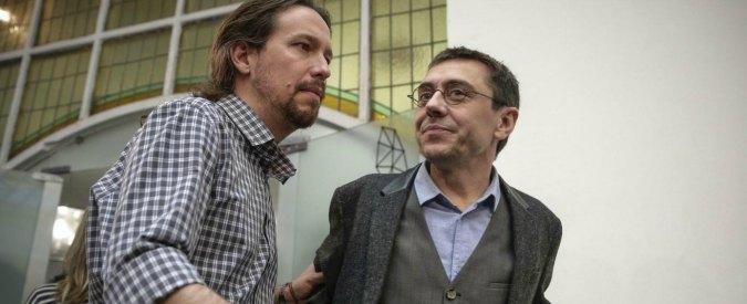 """Podemos, ex dirigente: """"Movimenti stiano attenti a non dimenticare il popolo. M5S? Meno forte in costruzione"""""""