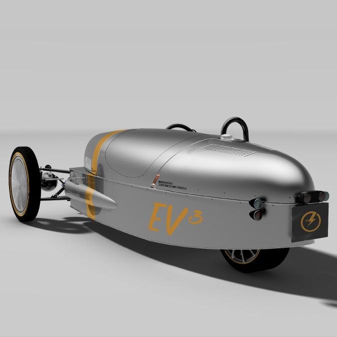 Morgan EV3 concept, al Festival di Goodwood la tre ruote diventa elettrica