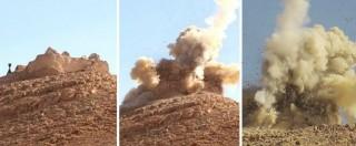 """Palmira, fonti locali: """"Isis ha iniziato a distruggere le rovine archeologiche"""""""