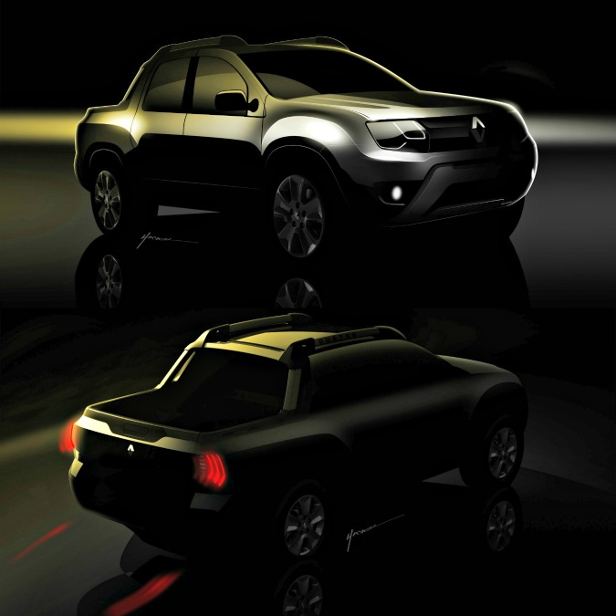 Renault, a Buenos Aires svela un piccolo pick-up su base Dacia Duster