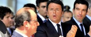"""Migranti, Renzi: """"Servono solidarietà e responsabilità"""". Hollande: """"No a quote"""""""